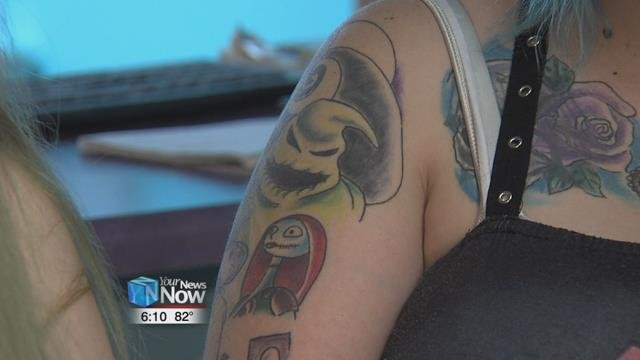 Local Artist Talks Proper Tattoo Care Hometownstations Wlio
