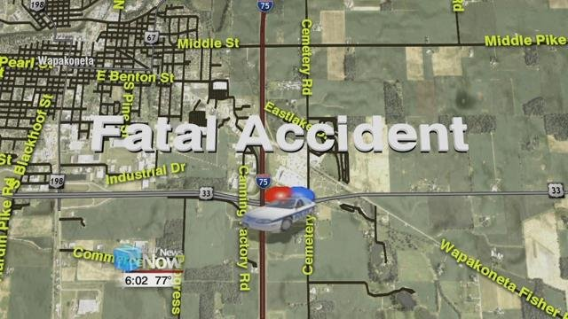 One Woman Dead After Twovehicle Crash On USIR Intersection - Map of us 70 exit 33 in ohio