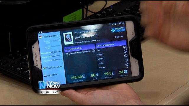 Patient friendly technology at st rita s medical center