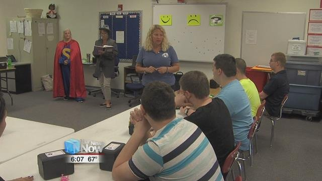 """The Ohio Coalition for the Education of the Children with Disabilities developed the """"It's my Turn"""" training, which helped students with disabilities learn more about career opportunities and other choices as they move on to adulthood."""