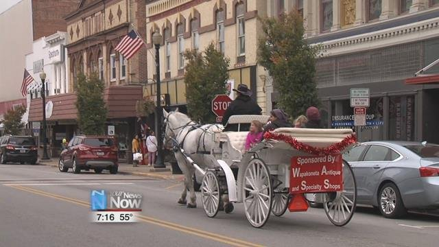 Shoppers could also enjoy a horse buggy ride through downtown as part of the festivities.