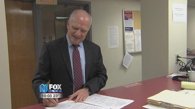 While Basinger says he was looking for something new and different, the retired judge is, in a way, returning to his roots.