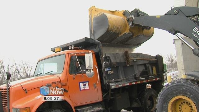 So far this year, ODOT has used over 8000 tons of salt.