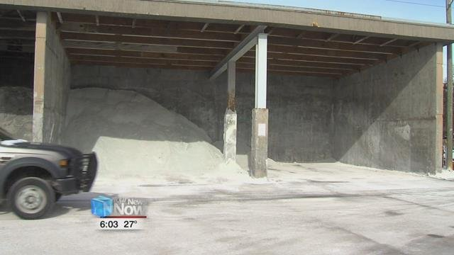 The problem lies in the fact that salt prices are based on a supply and demand basis, and during the winter, prices tend to spike.