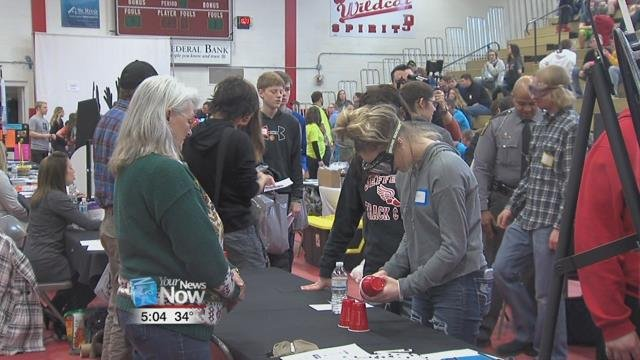 It was put together by four different Delphos businesses as part of the Mentor3 program, which matches business mentors with students from both Delphos St. John's and Delphos Jefferson.