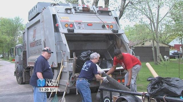 On May 5th, City Wide Pride was able to collect 16 tons of trash from residents from their four locations around the city.