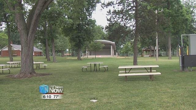 The hope is that the new amphitheater will make life easier for the Community Picnic for years to come.