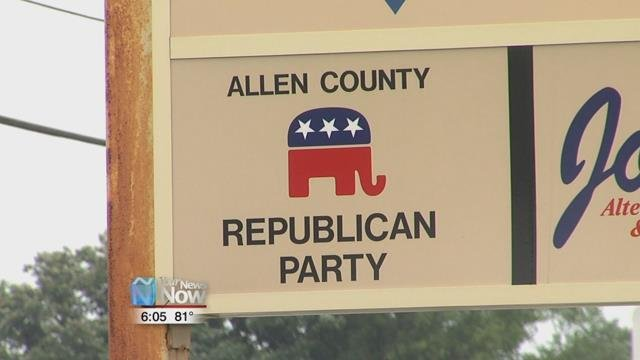 The Allen County Republican Party is looking for a new candidate to fill the position for County Treasurer.
