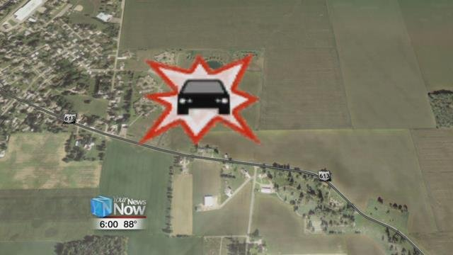 According to the Putnam County Sheriff's Office, officers responded to a crash on State Route 613 east of Leipsic around 8:30 Sundaymorning.