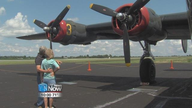 Four rare World War II bomber and fighter planes are making a stop in Lima and giving a WWII experience you will never forget.