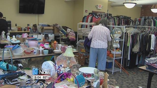 """Allen County Children Services and the Neighborhood Relief Thrift Store once again holding their """"Un-garage"""" sale."""