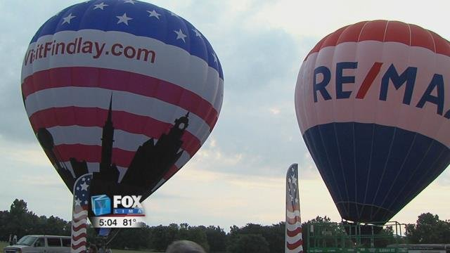 The skies above Findlay will be filled with dozens of colorful and iconic hot air balloons.