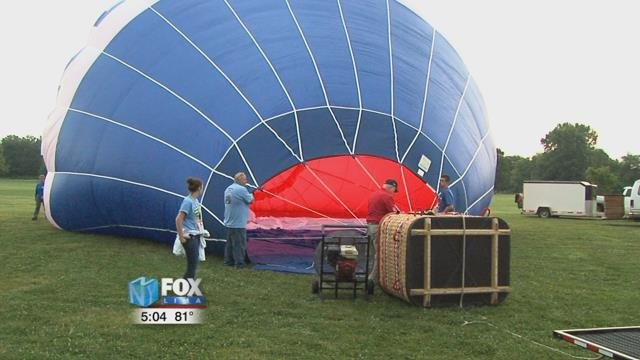 The balloon fest continues through Sunday. You can find a full schedule of events at flagcityballoonfest.com.