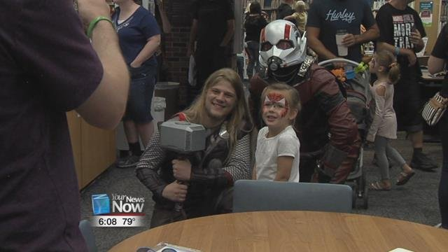 "For the first time ever, Rival Comics and the Mercer County Public Library teamed up to invite people of all ages to enjoy some ""fan-tastic"" fun for the Grand Lake Fan Expo."