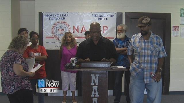 The NAACP Lima Chapter held a press conference Saturday afternoon to address their concerns aboutallegedpolice brutality within the Lima Police Department.
