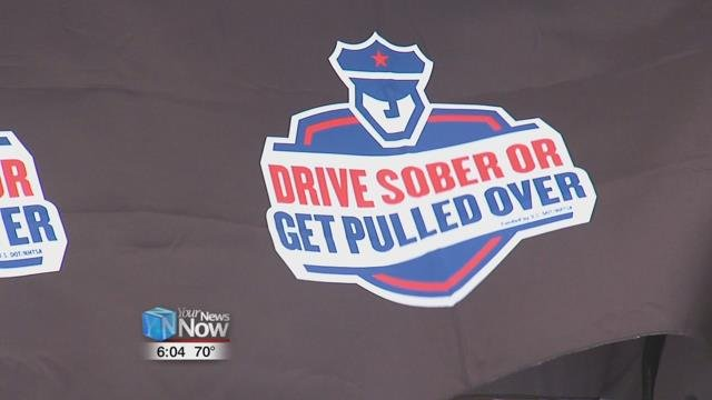 "Starting August 22nd through Labor Day weekend, law enforcement will be cracking down on drunk drivers during their ""Drive Sober or Get Pulled Over"" campaign."