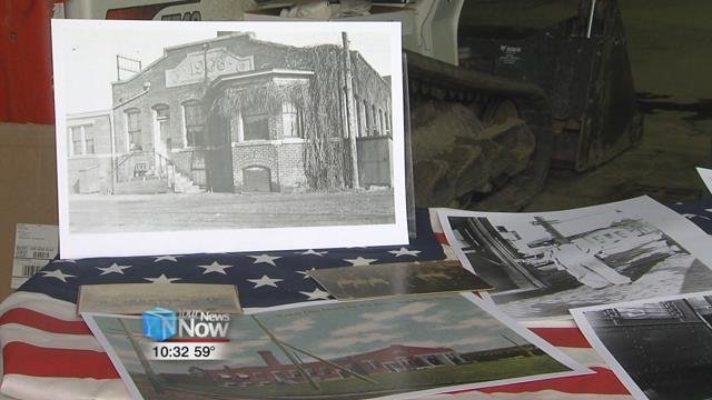 An open house was held today at the former Western Ohio Electric Railway car barns.