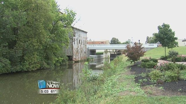 Work on the old mill in St. Marys is still going on, and city officials are hoping to use federal money to continue on with the project.