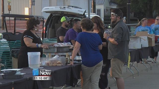 Canal Days will officially open up Friday night, but people started the party a little early during Thursday's Toast to the City.