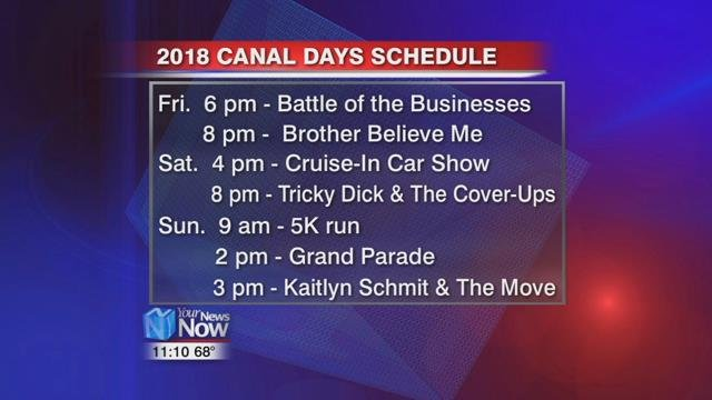 For more information about the festival log on to delphoscanaldays.com