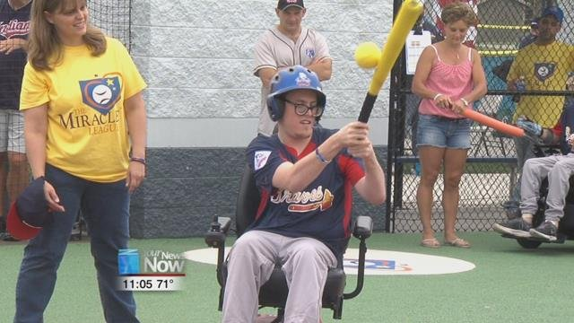 Around 90 players from 25 states and Canada joined Rajesh in Findlay to participate in the first ever Miracle League All-Star Weekend.