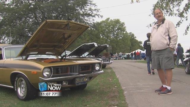 The Rebel Run Car Show returned to the fairgrounds for its39th year Friday and Saturday, for two days of classic cars and motorcycles.