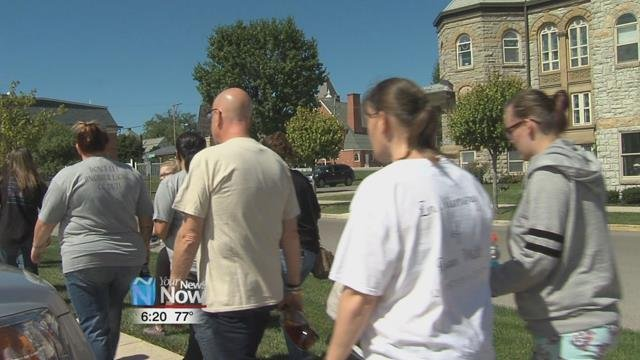 Hardin County's 3rd Annual Suicide Awareness and Prevention Walk took place this afternoon at St. Johns church in downtown Kenton.