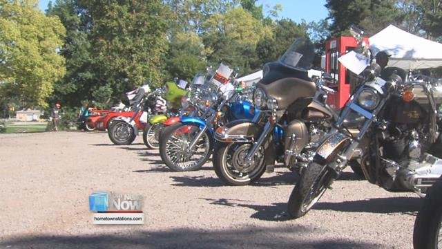 Over a hundred cool and classic cars and motorcycles drew a crowd out to the Rotary Pavilion.