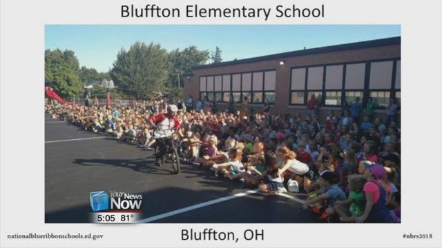 Bluffton Elementary School is recognized as being one of the top schools in the nation by the United States Department of Education.