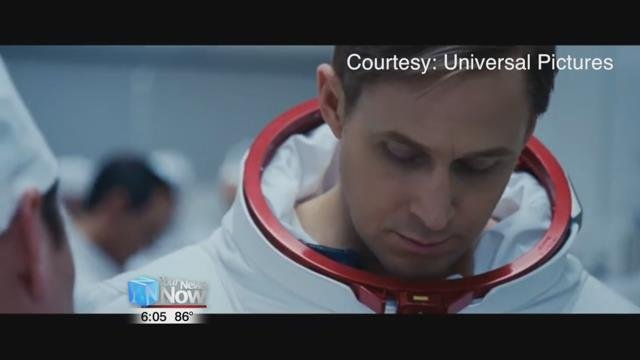 The movie highlights Wapakoneta native Neil Armstrong and his part in the historic mission to the moon.