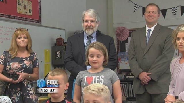 Paolo DeMaria made another stop in the area to see a nationally recognized school in Bluffton.