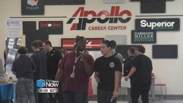 Enrollment at Apollo Career Center is at a record high as more students are choosing career tech.