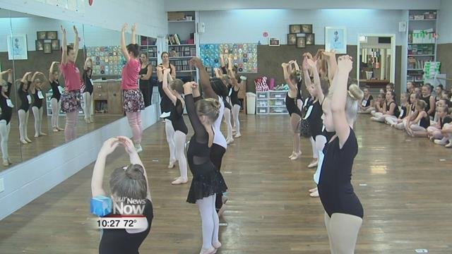 Young dancers from around the area auditioned for a spot in the upcoming performance of the Nutcracker.