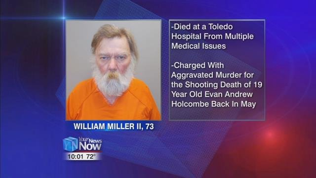 The Paulding County Sheriff's Office says inmate William R. Miller II died of natural causes at a Toledo hospital Tuesday night.