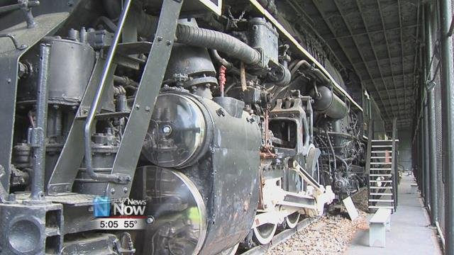 You will have the opportunity to go through the railroad exhibit that includes the last steam locomotive built at the Lima Locomotive Works.