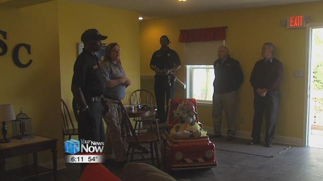 The department held an open house at the Lima Noon Optimists' Safety City Survive Alive House.