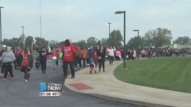 The American Cancer Society (ACS) held their annual Making Strides Against Breast Cancer walk to celebrate breast cancer survivors and remember those who have been lost to the disease.