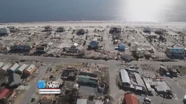 Christina Myers made a trip to Ohio to visit relative just before Hurricane Michael hit land in the Panama City area.