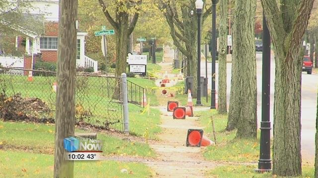 By the end of next week, Dominion Energy said their gas line replacement will be completed.