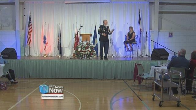 Cable Road Alliance Church held a dinner for veterans in our area to thank them for their service.