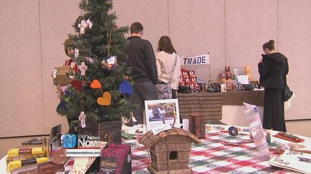 The seventh annual trade sale offered handmade items that are from all over the world.