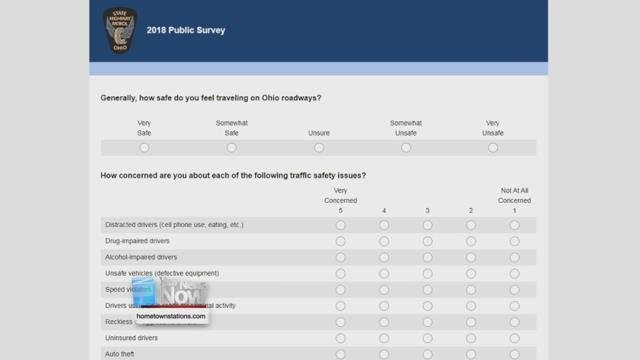 The all-online survey will go live for the month of November.