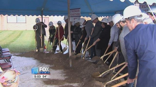 Monday marked the groundbreaking for the Wapakoneta YMCAexpansion project.
