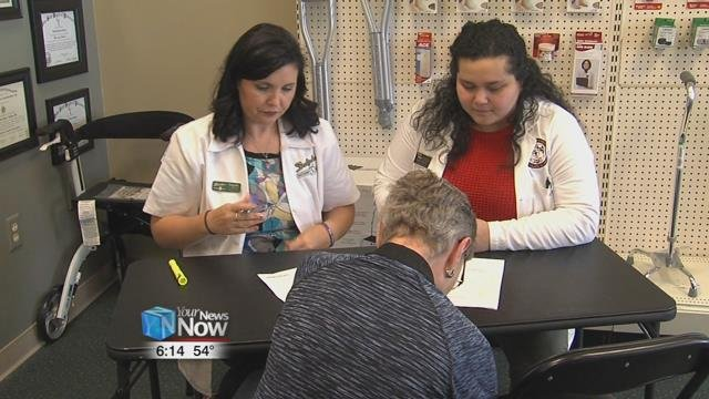 Ohio Northern University and Delphos Discount Drugshave been holding a program to help both students and the community.