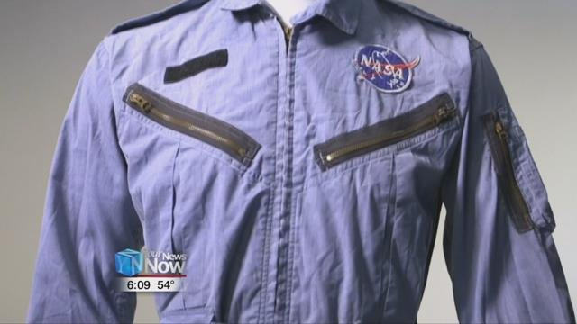 Ahlers bid over $109,000for the flight suit worn by Armstrong during the Gemini program.