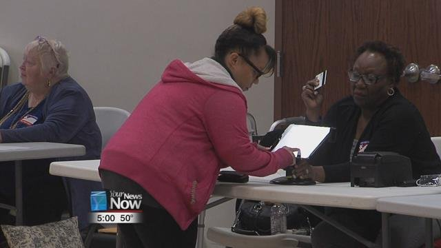 """Enough ballots were printed for an 80% turnout, but officials are estimating a """"60 to 65%"""" turnout at the polls, which mirrors a presidential election."""