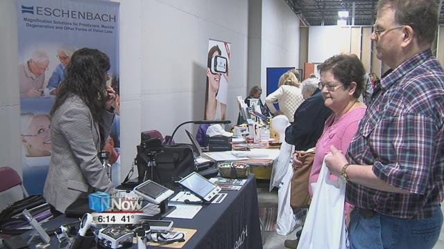 The Goodwill Easter Seals is one of the local organizations that aid those with visual impairments and say that today's event is just part of what they do.