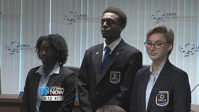 Three Lima Senior studentsnow hold 3 of the 7 state office positions for DECA.