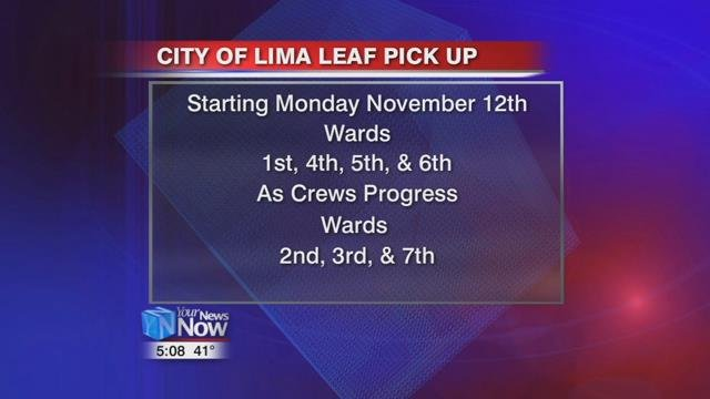 Crews will be out in the first, fourth, fifth and sixth wards starting Monday.