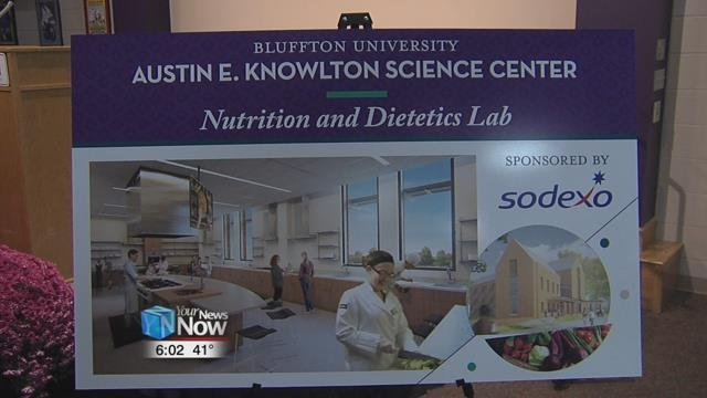 Bluffton stands at having raised $13.9 million of their $14.5 milliongoal for the science building.